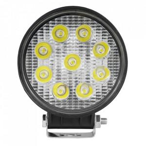 Proiector de lucru cu led, rotund, lumină concentrată
