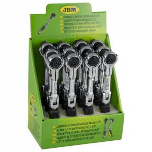 """Cheie Clichet Articulata cu 72 Dinti 1/2"""" 175 mm, JBM"""