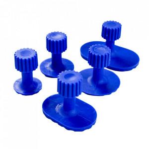 Set cu 5 suporturi albastre
