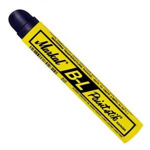 Marker cu Vopsea Solida, pentru Marcarea Structurilor din Otel prin Vopsea / Primer Bazat pe Ulei / Solventi, B-L Paintstik Blue, Markal