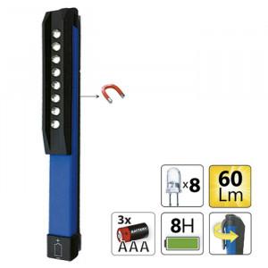 Lampa cu 8 leduri magnetizată mini