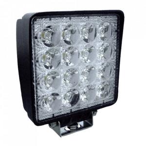 Proiector cu 16 leduri la 48 w, lumini difuze