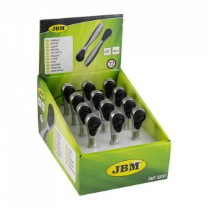 """Mini Clichet din Zinc cu 72 Dinti 1/4"""" 85 mm, JBM"""