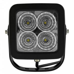 Proiector cu 4 leduri la 40w, lumină difuză