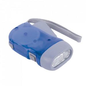 Lanternă cu Dinam Și 3 Leduri