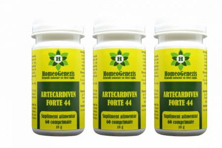 Artecardiven Forte 44 - 3 x 60 comp - Pachet Economic
