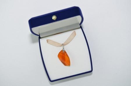 Avangarde Pendant, Crystal Copper, 30 mm