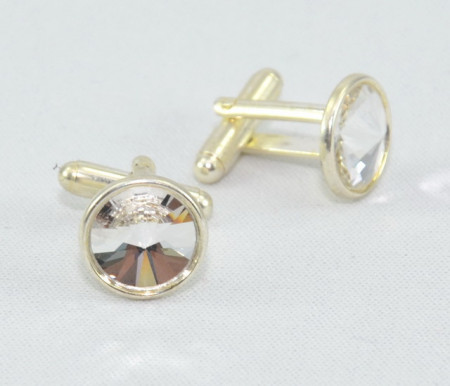 Butoni cu cristale SWAROVSKI ELEMENTS - Crystal