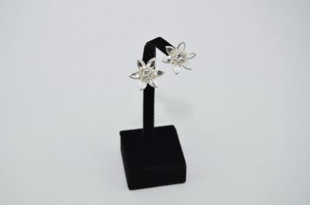 Cercei cu cristale in montura SWAROVSKI ELEMENTS