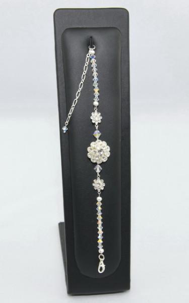 Bratara flower settings cu cristale SWAROVSKI ELEMENTS