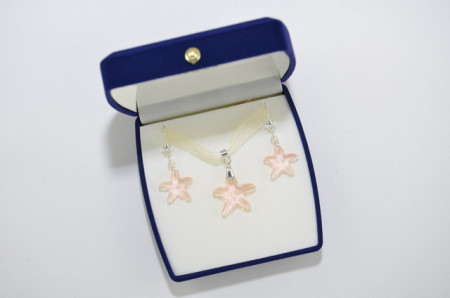 Starfish Pendant - Silk, 16/20 mm