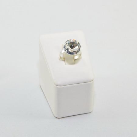 Inel cu cristal SWAROVSKI ELEMENTS -  Crystal