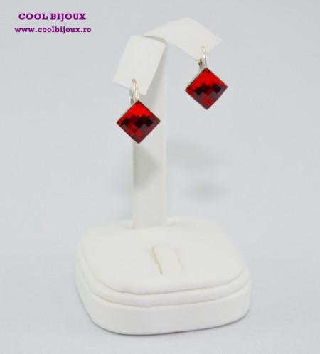 Cercei cu cristale SWAROVSKI ELEMENTS - Light Siam