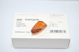 Avangarde Pendant, Crystal Copper, 30/40 mm