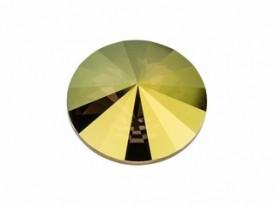 Cercei surub cu cristale SWAROVSKI ELEMENTS - Iridescent Green