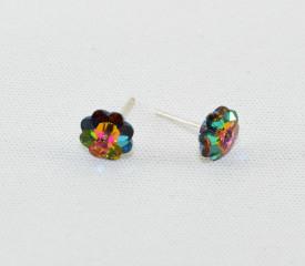 Cercei surub cu cristale SWAROVSKI ELEMENTS - Marguerite