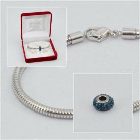 SWAROVSKI charm & bracelet - montana