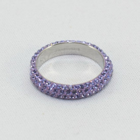 Inel SWAROVSKI ELEMENTS - Tanzanite