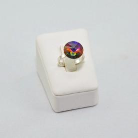 Inel cu cristal SWAROVSKI ELEMENTS -  Vocano