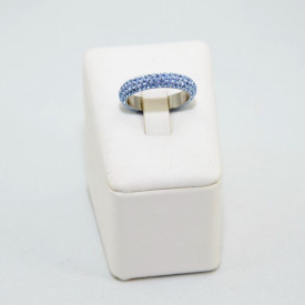 Inel SWAROVSKI ELEMENTS - Light Sapphire