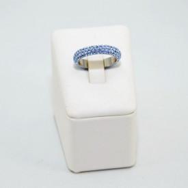Inel SWAROVSKI ELEMENTS - Light Sapphire