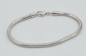SWAROVSKI charm & bracelet - purple