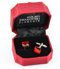 Butoni cu cristale SWAROVSKI ELEMENTS - Light Siam