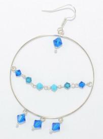Cercei cu cristale SWAROVSKI ELEMENTS