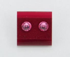Cercei surub cu cristale SWAROVSKI ELEMENTS - rose