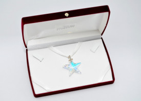 Star Pendant, Crystal Aurore Boreale, 40 mm