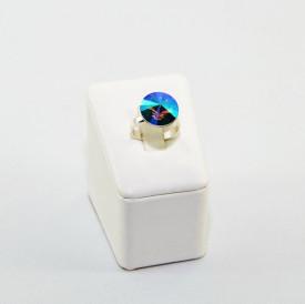 Inel cu cristal SWAROVSKI ELEMENTS -  Paradise Shine