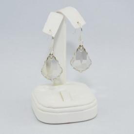 Cercei cu cristale SWAROVSKI ELEMENTS - Silver Shade