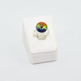 Inel cu cristal SWAROVSKI ELEMENTS -  Vitral Medium