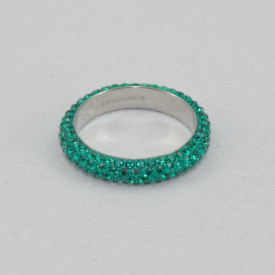 Inel SWAROVSKI ELEMENTS - Emerald