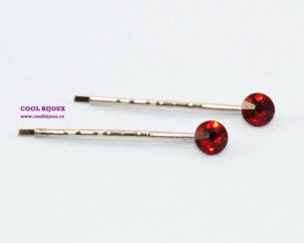 Agrafe de par cu cristale SWAROVSKI ELEMENTS - siam