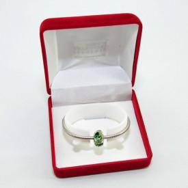 SWAROVSKI charm & bracelet - mix green
