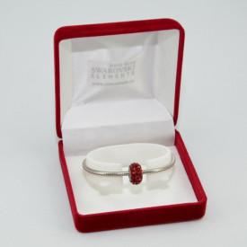 SWAROVSKI charm & bracelet - siam