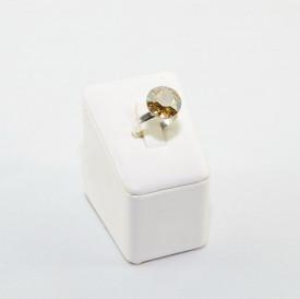 Inel cu cristal SWAROVSKI ELEMENTS - Golden Shadow