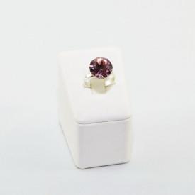 Inel cu cristal SWAROVSKI ELEMENTS - Antique pink