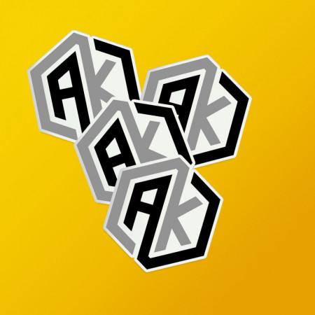 Pack stickere logo AK