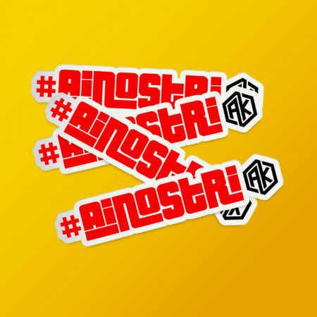 "Pack stickere ""#ainoștri"""