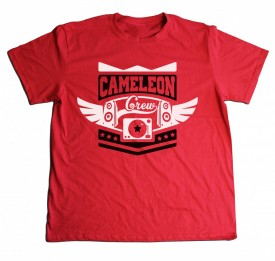 Cameleon White-Black-Red [tricou] + CD/Album GRATUIT la alegere