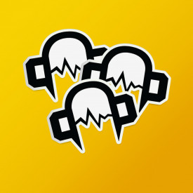 Pack stickere logo