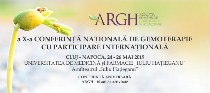 Conferinţă Naţională de Gemoterapie 2019 - editia 10
