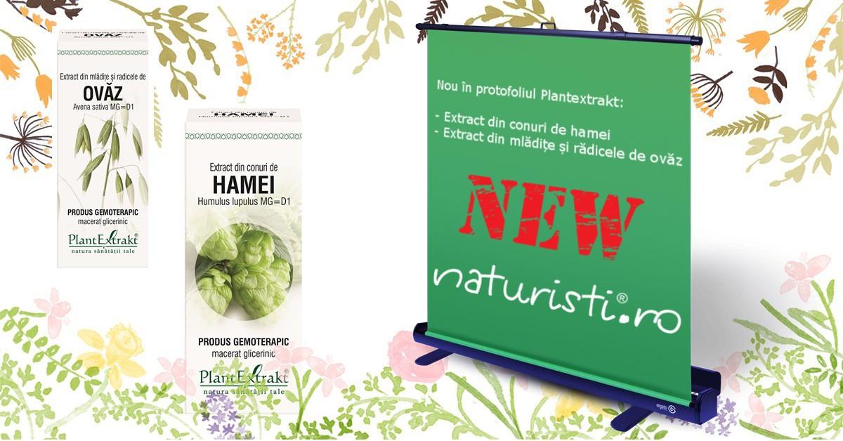 Lansare - Doua noi gemoderivate din portofoliul Plantextrakt