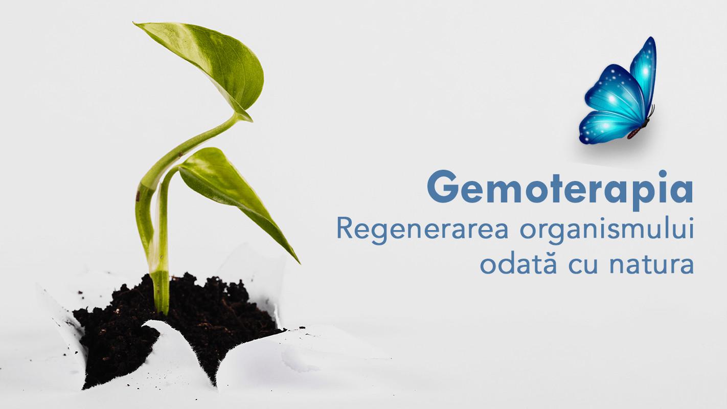 GEMOTERAPIA – Regenerarea organismului odata cu natura