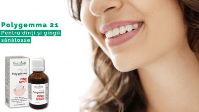 Polygemma 21, pentru dinți și gingii