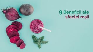 9 beneficii ale sfeclei roșii