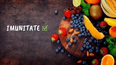 Top vitamine pentru cresterea imunitatii