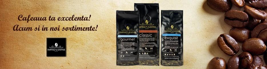 Cafea premium de la  Imping's Kaffee Tradition GmbH